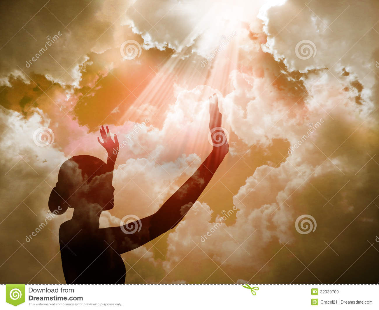 Praise The Lord Royalty Free Stock Images Image 32039709