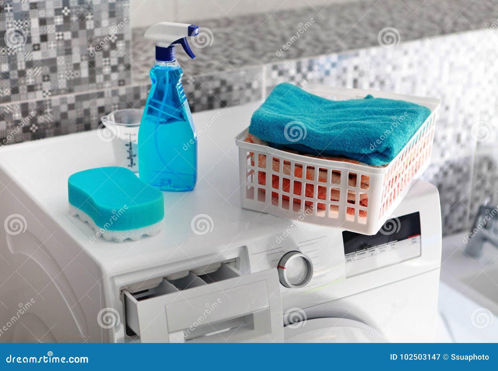 Pralnia proszek na pralce