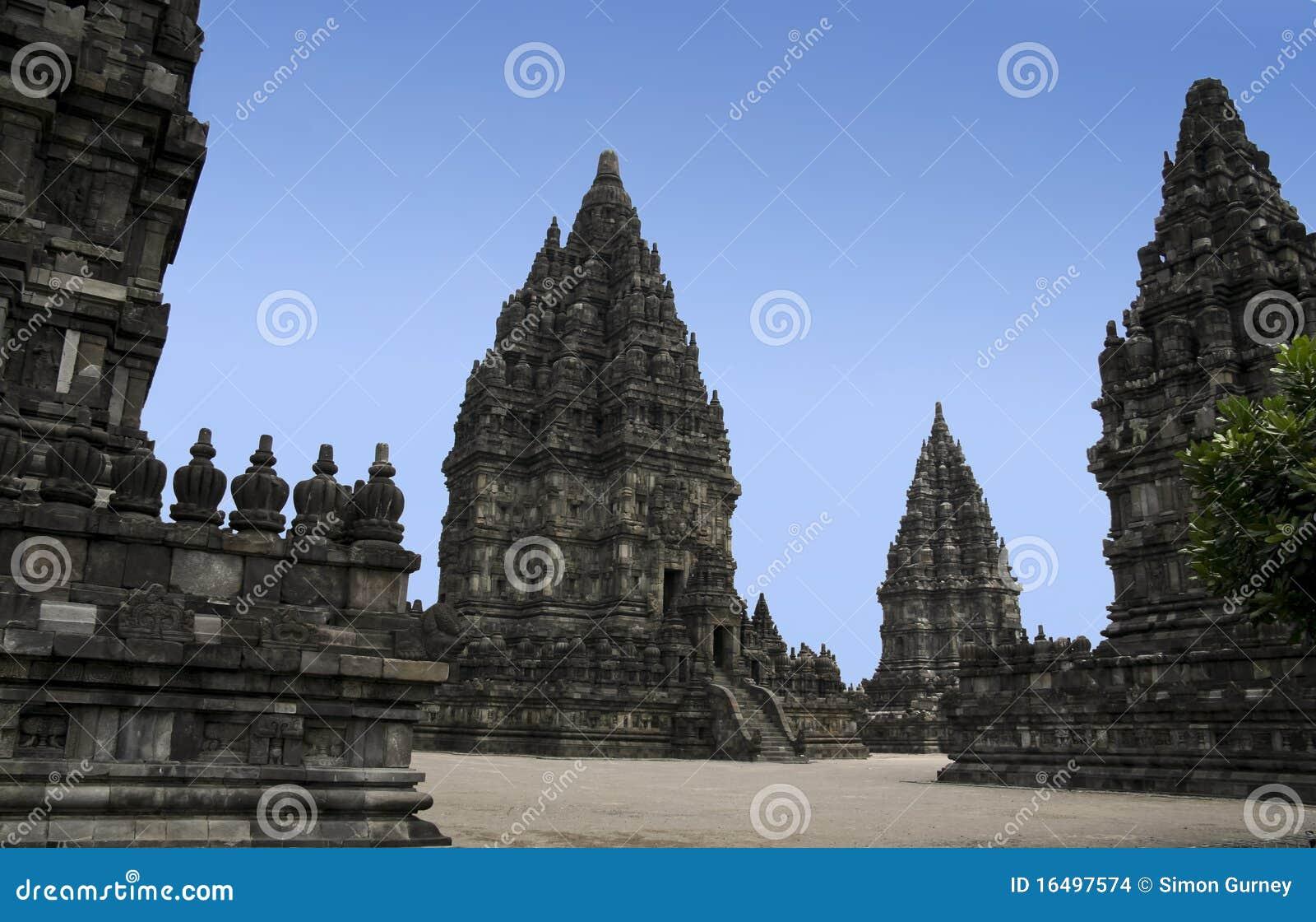 Yogyakarta Indonesia  city pictures gallery : Prambanan Temples Yogyakarta Java Indonesia Stock Images Image ...