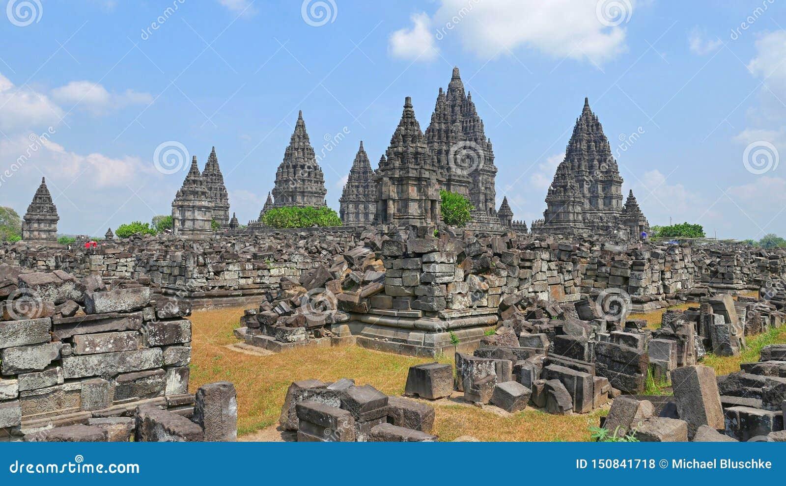 Prambanan - templo hindú en Indonesia