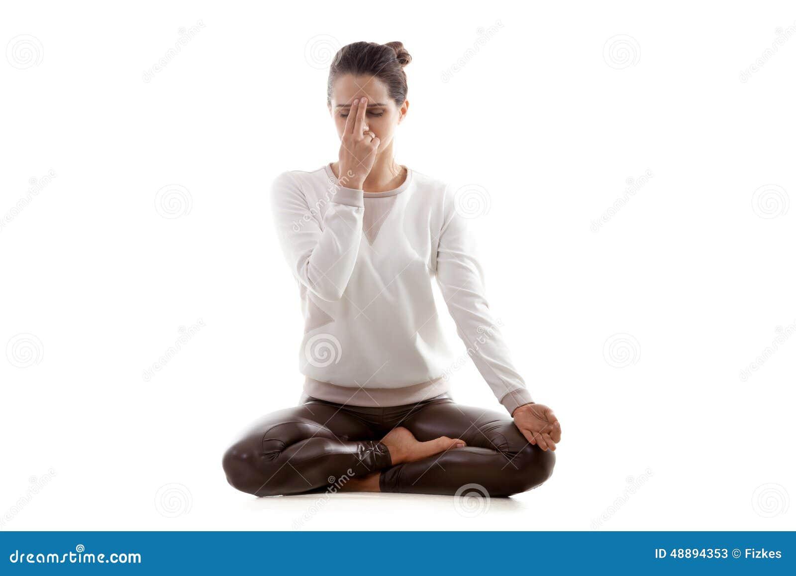 Pranayama do shodhana do nadi da prática da ioga