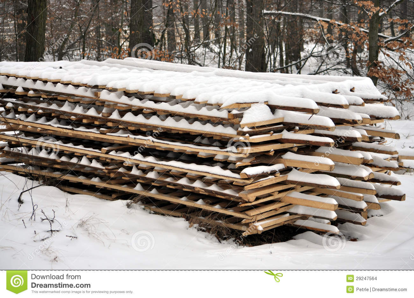 Download Pranchas de madeira foto de stock. Imagem de inverno - 29247564