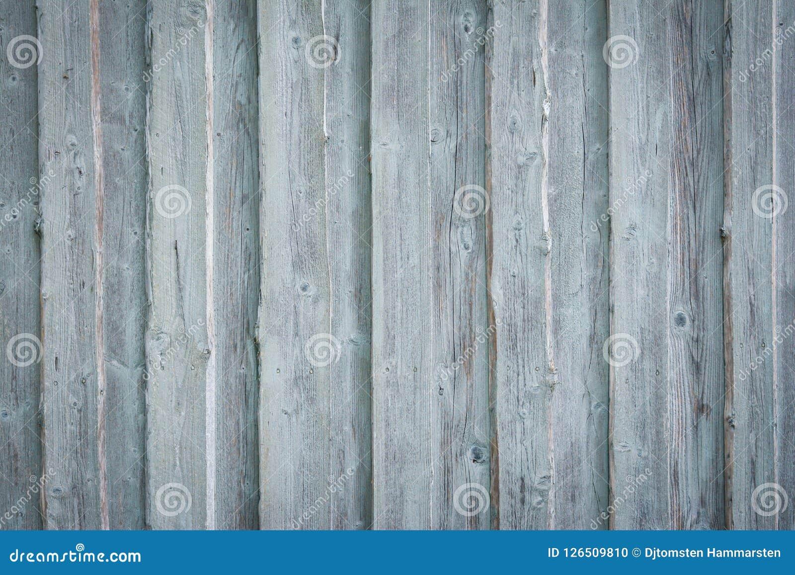Pranchas de madeira velhas na parede da casa Foto de Stock