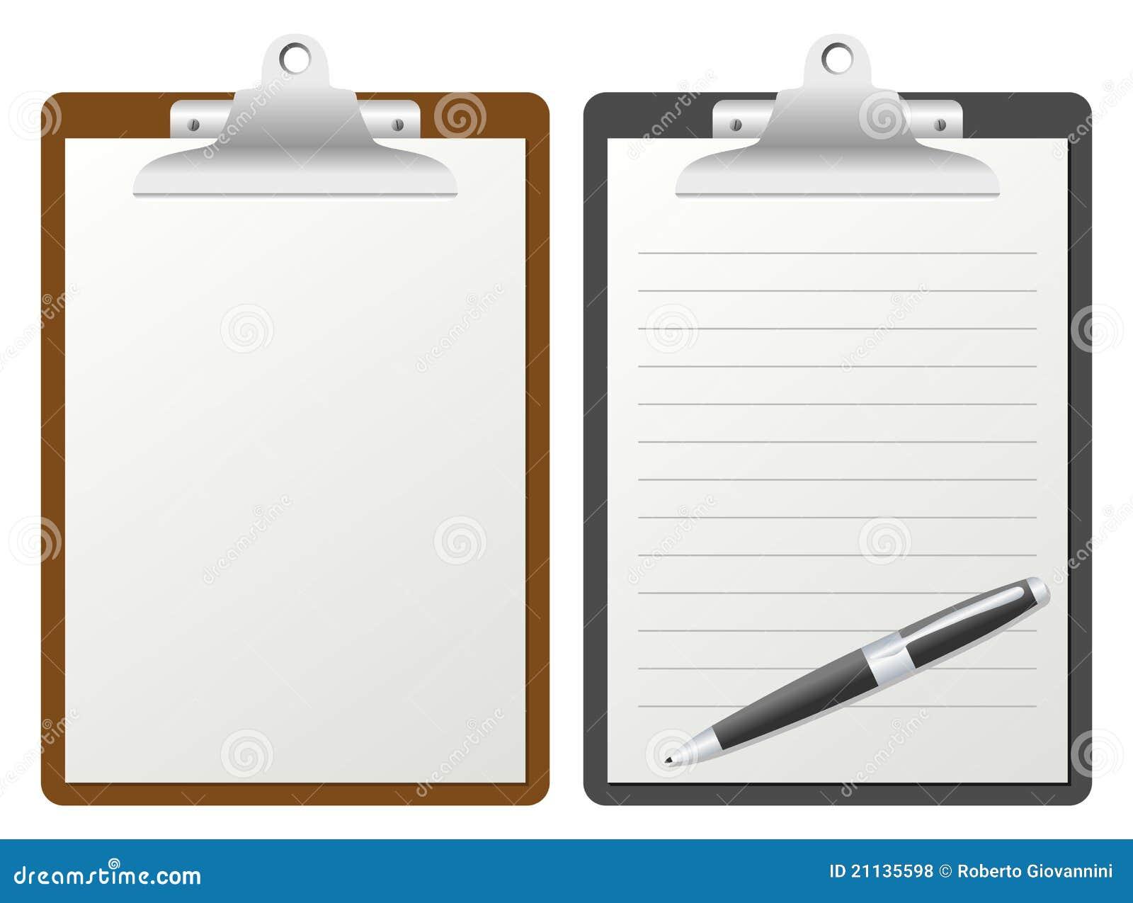 clipboard templates