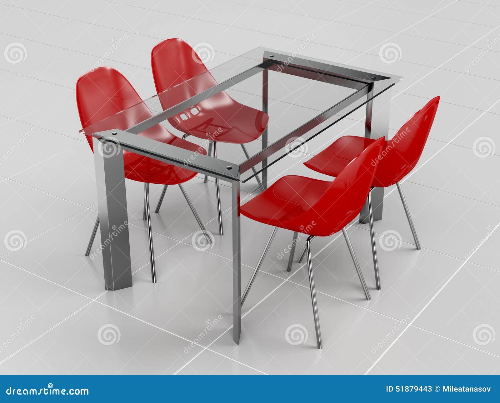 Sedie Di Plastica Trasparenti : Pranzare insieme illustrazione di stock illustrazione di plastica