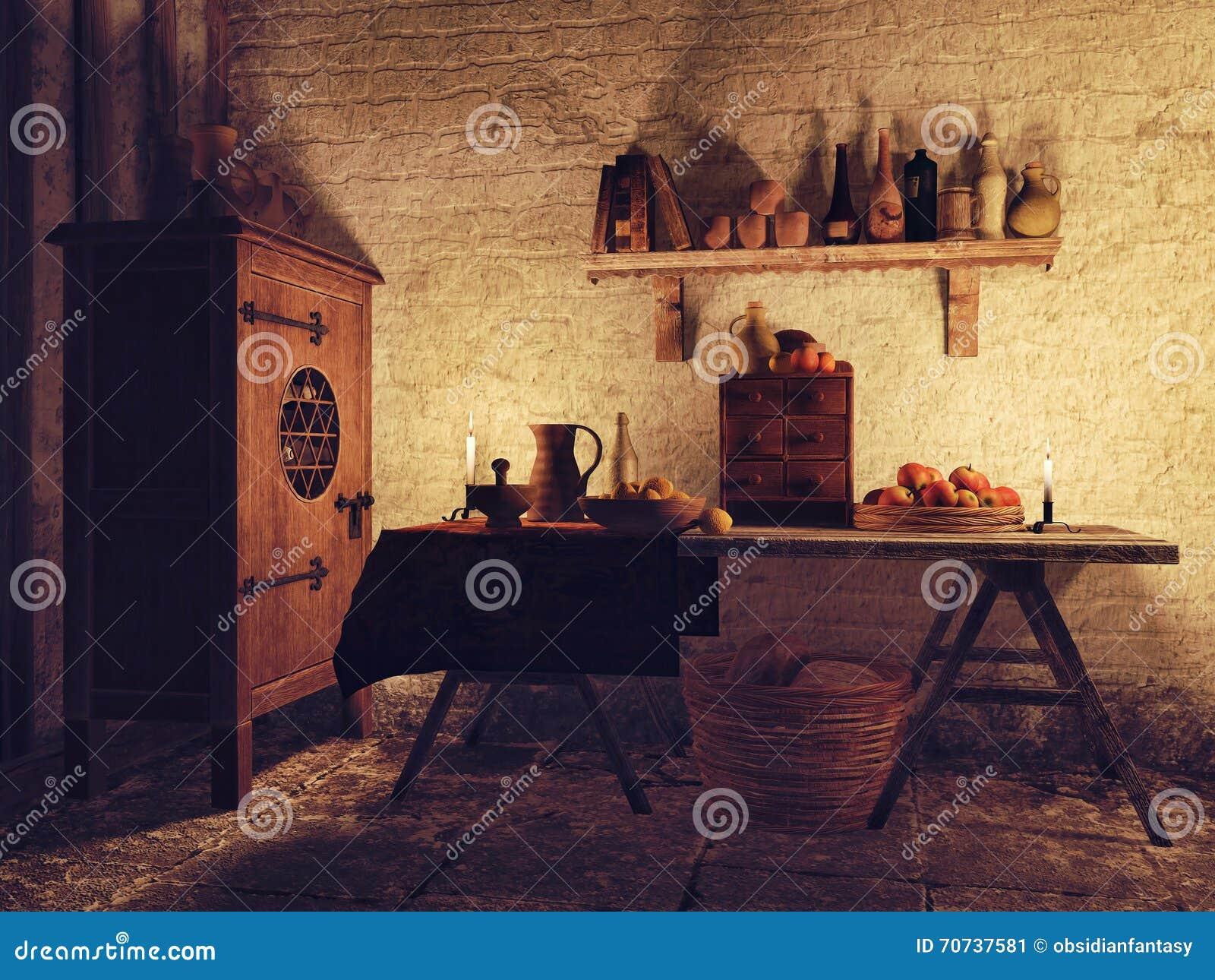 Pranzare vecchia stanza