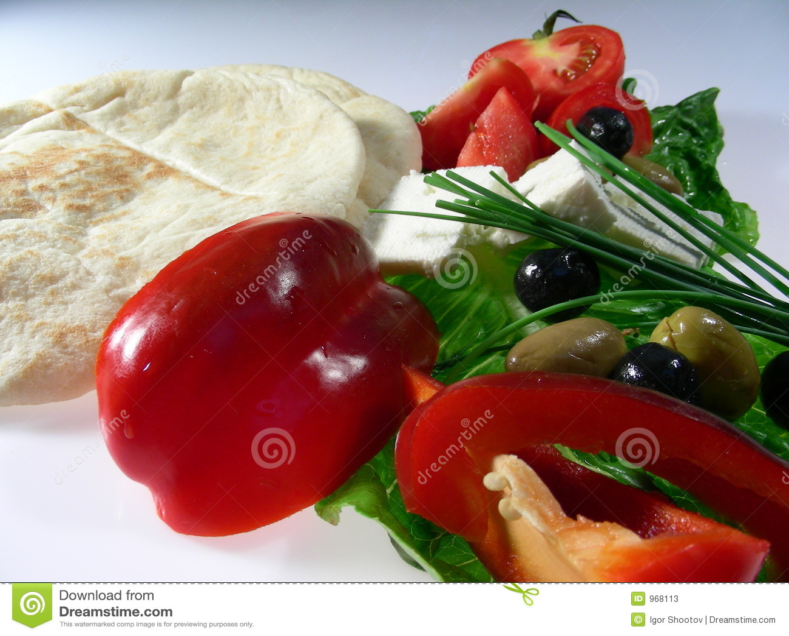 Pranzo mediterraneo