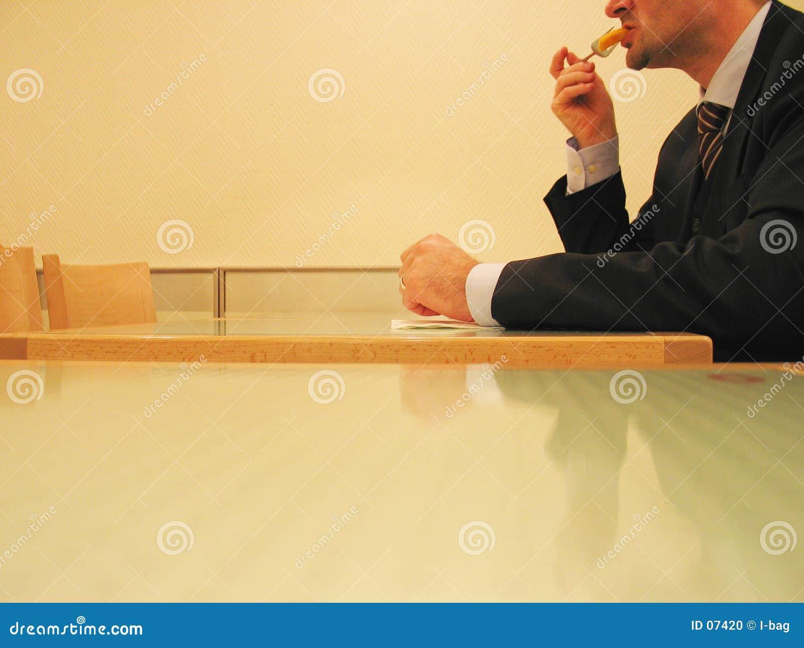 Pranzo rapido di affari