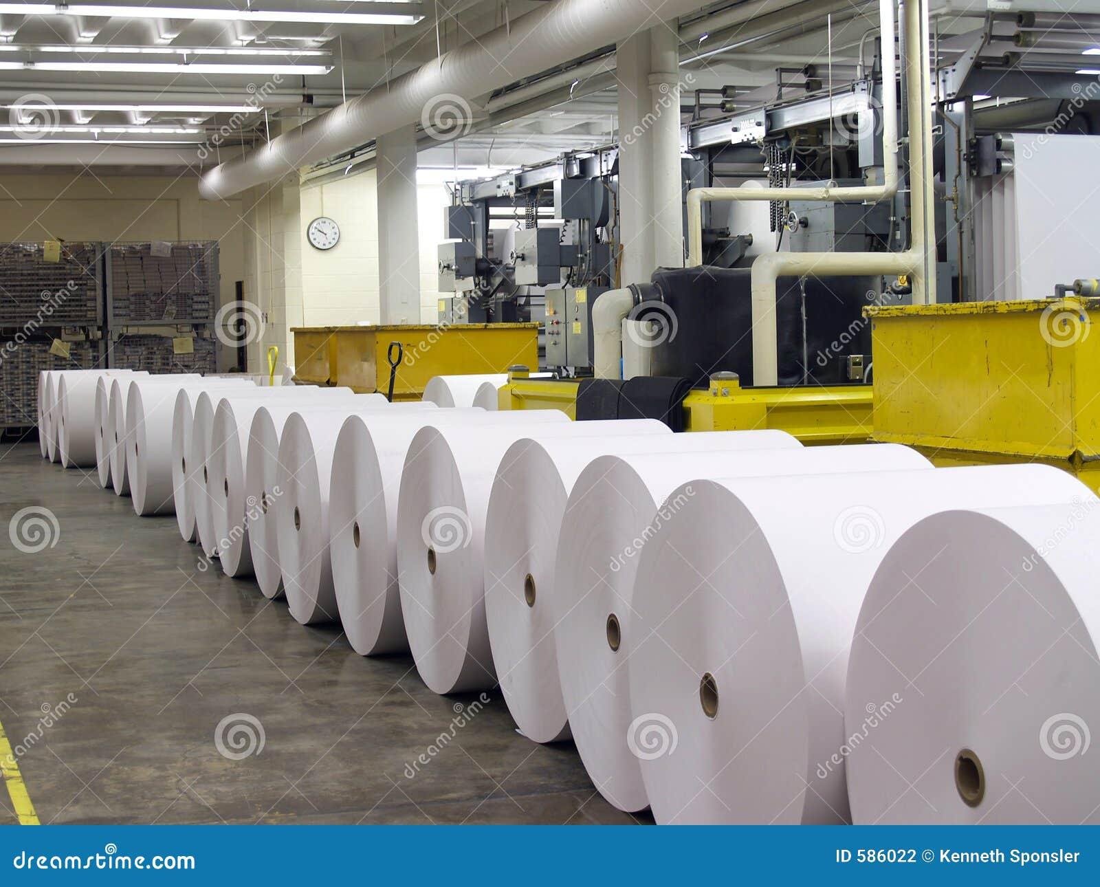 Prasa w papierowej