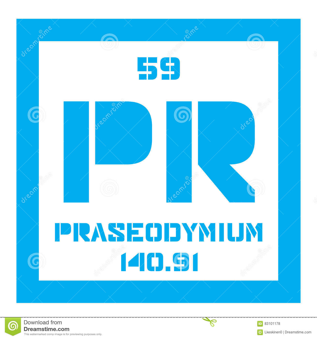 Praseodymium chemisch element