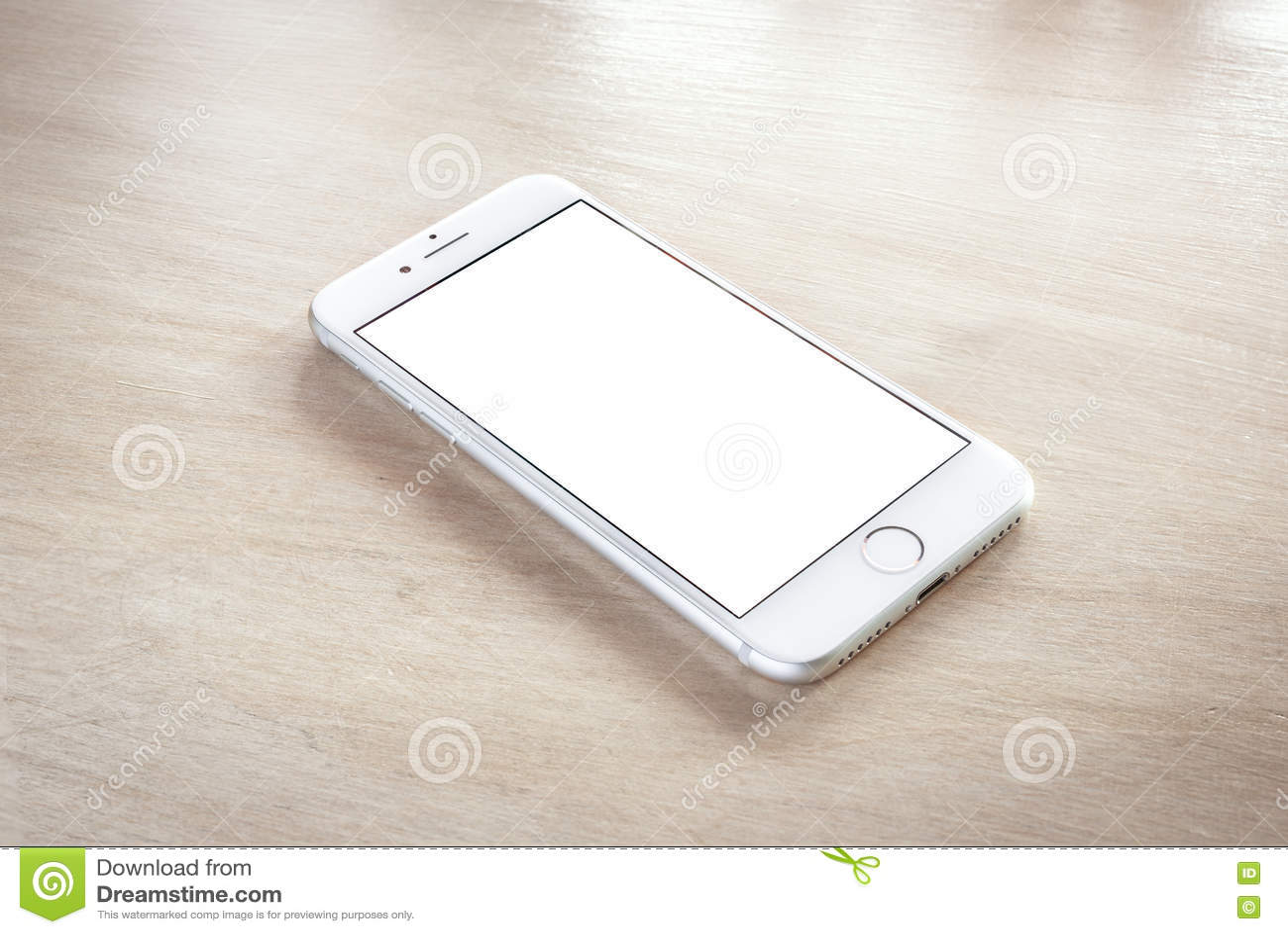 Prata brandnew do iPhone 7 com tela vazia