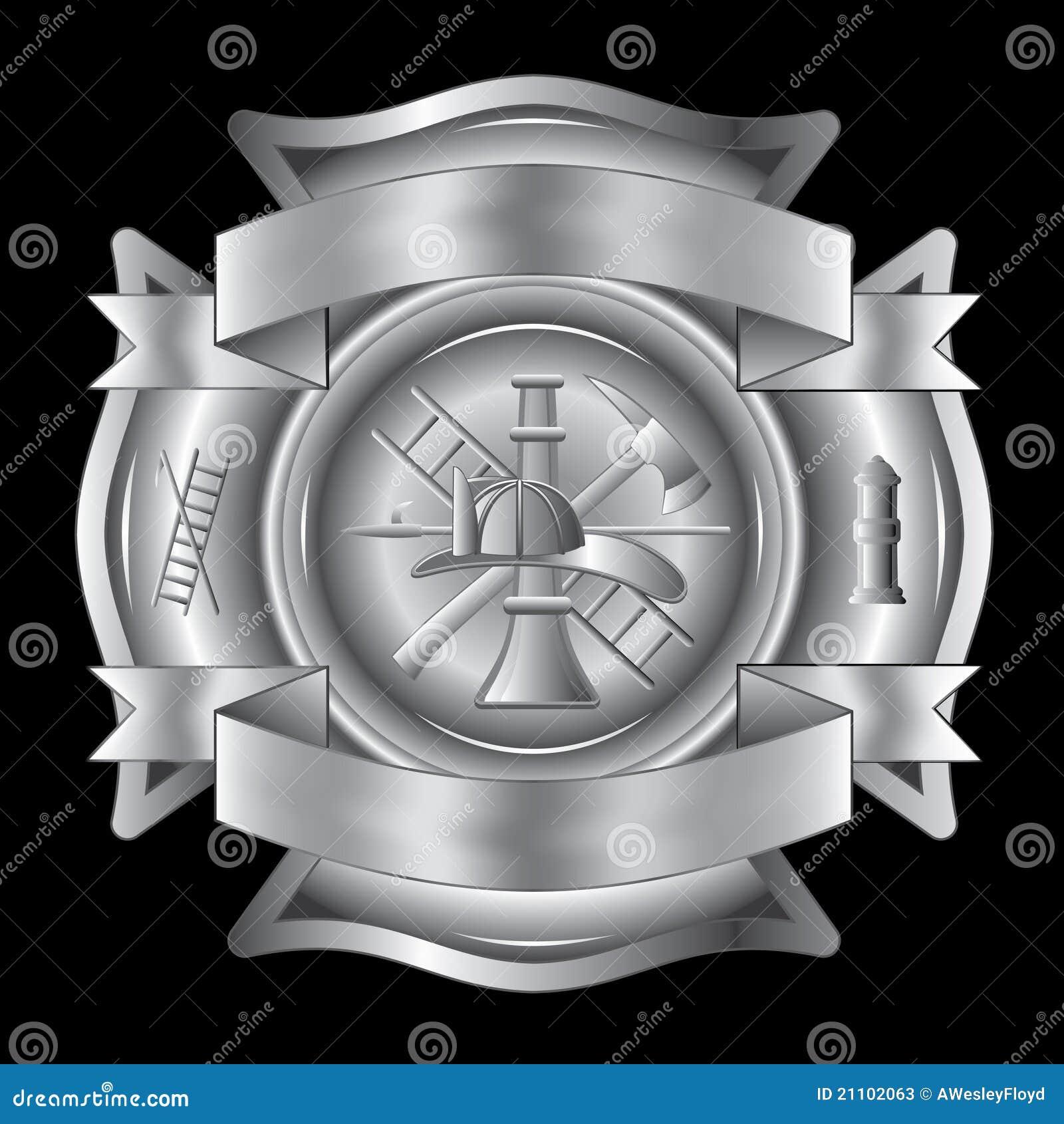 Prata transversal do sapador-bombeiro