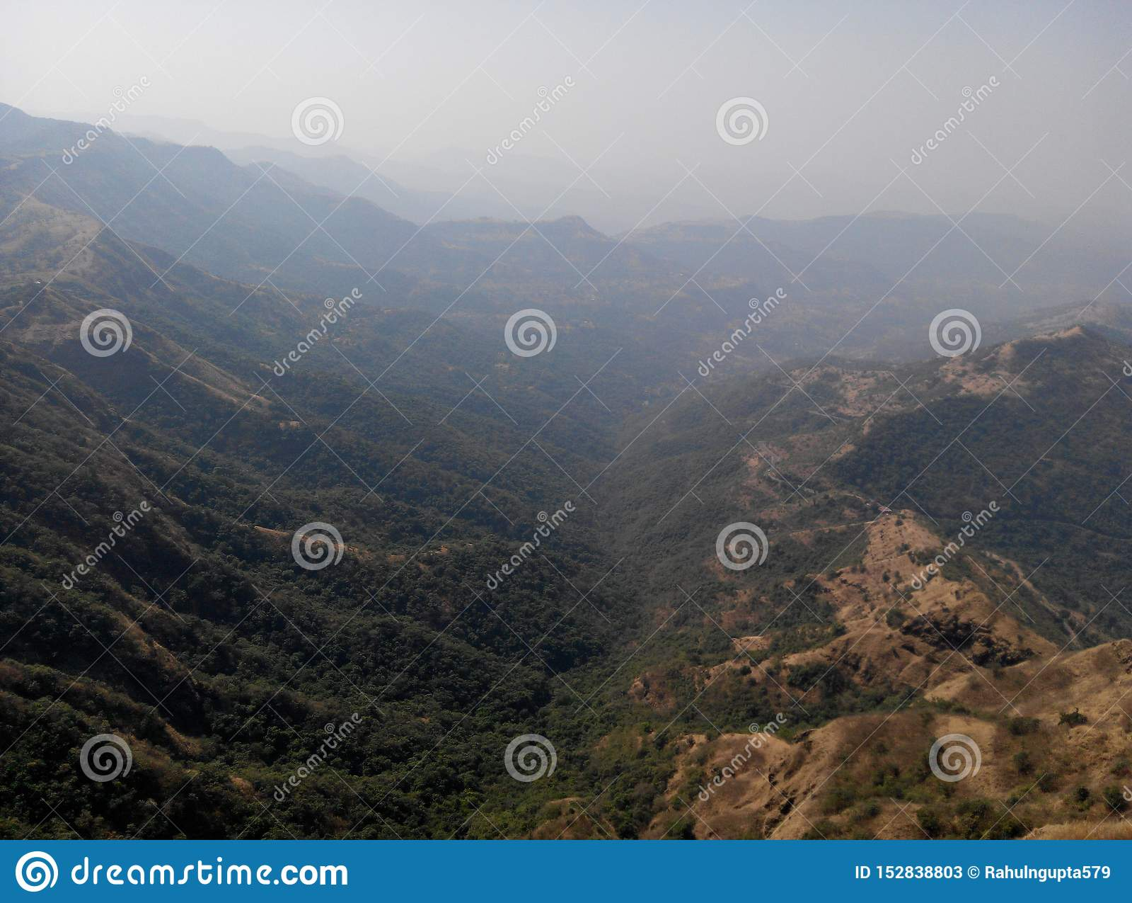 Pratapgad堡垒mahableshwar森林