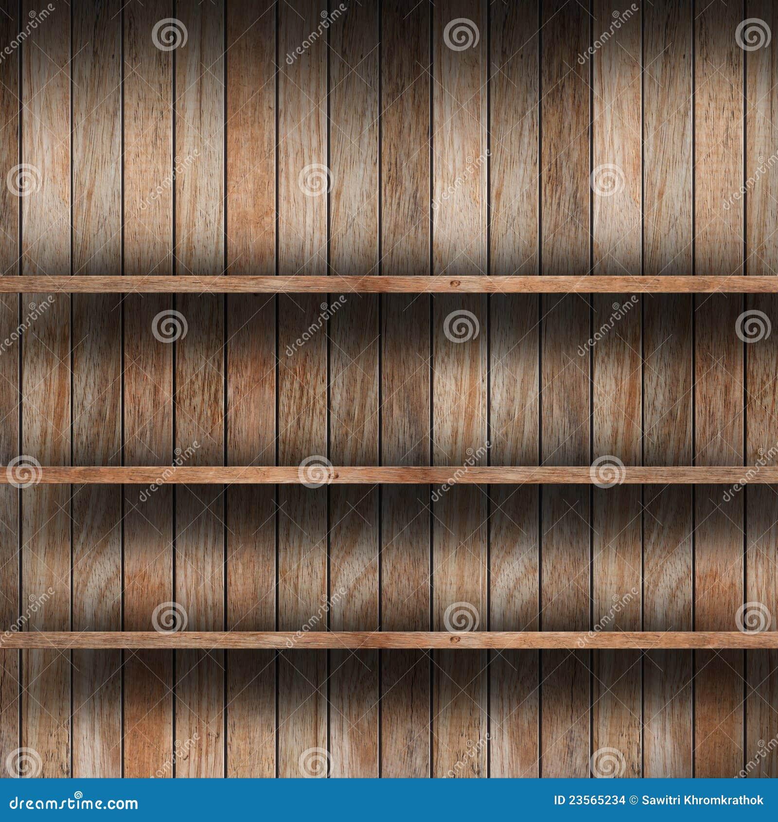 Prateleira De Madeira Vazia Imagens de Stock Imagem: 23565234 #83A625 1300x1390