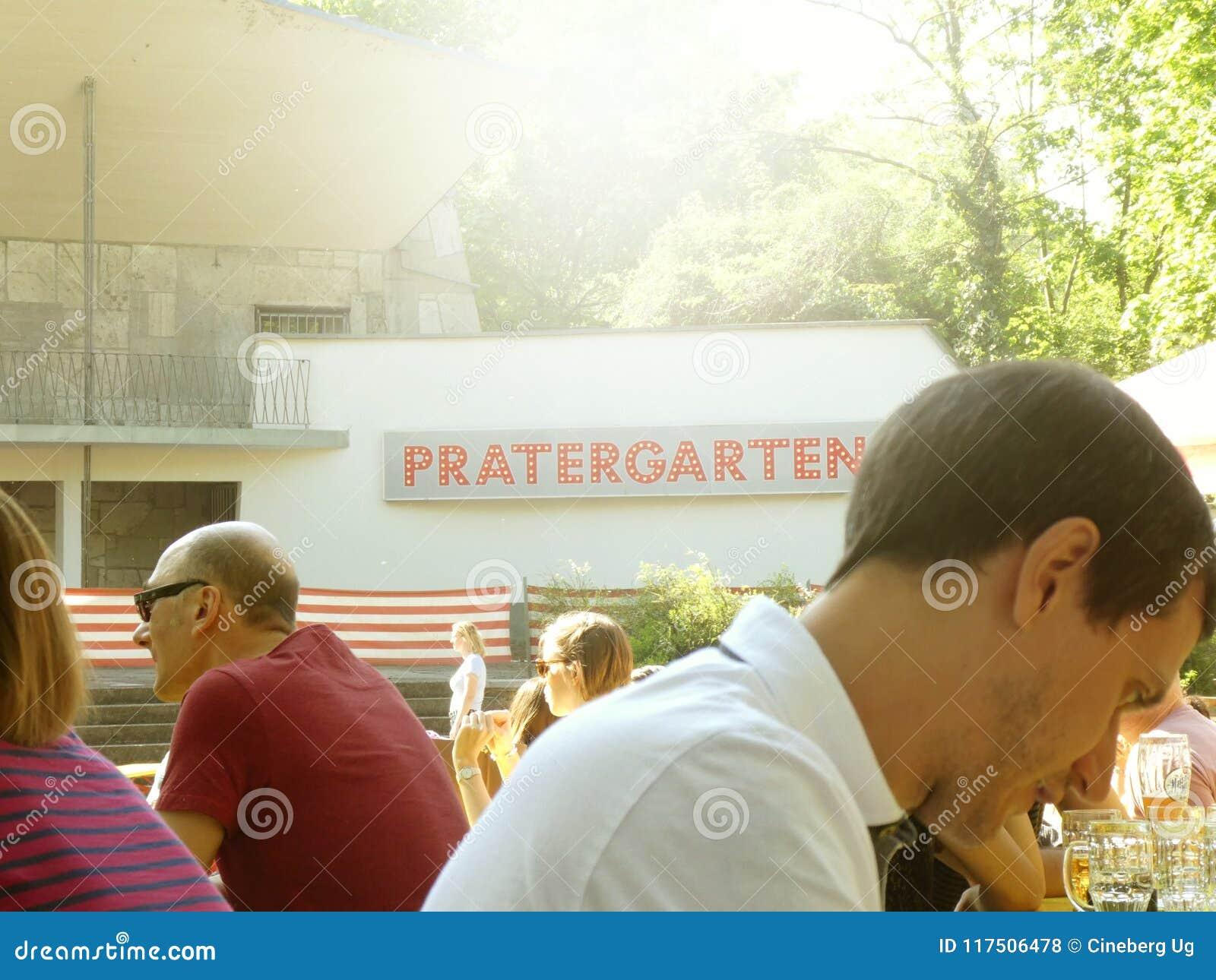 Prater biergarten en Berlín