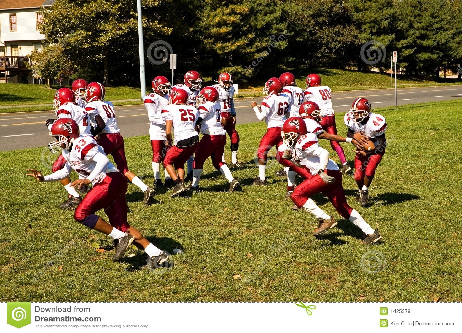 Pratique en matière du football de ligue de la jeunesse