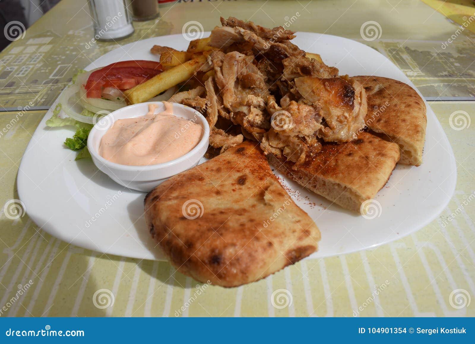 Prato de galinha