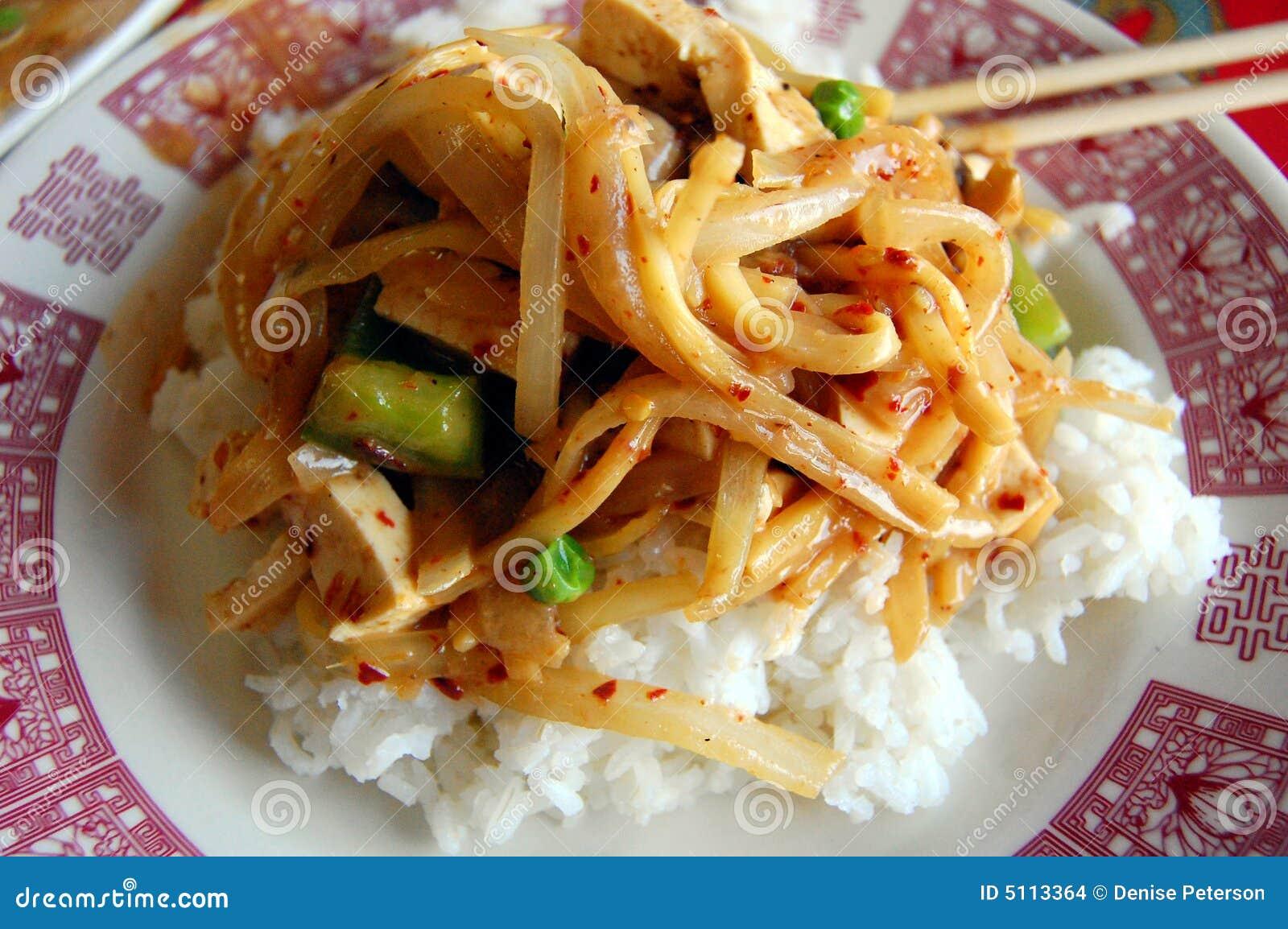 Prato do caril de Panang