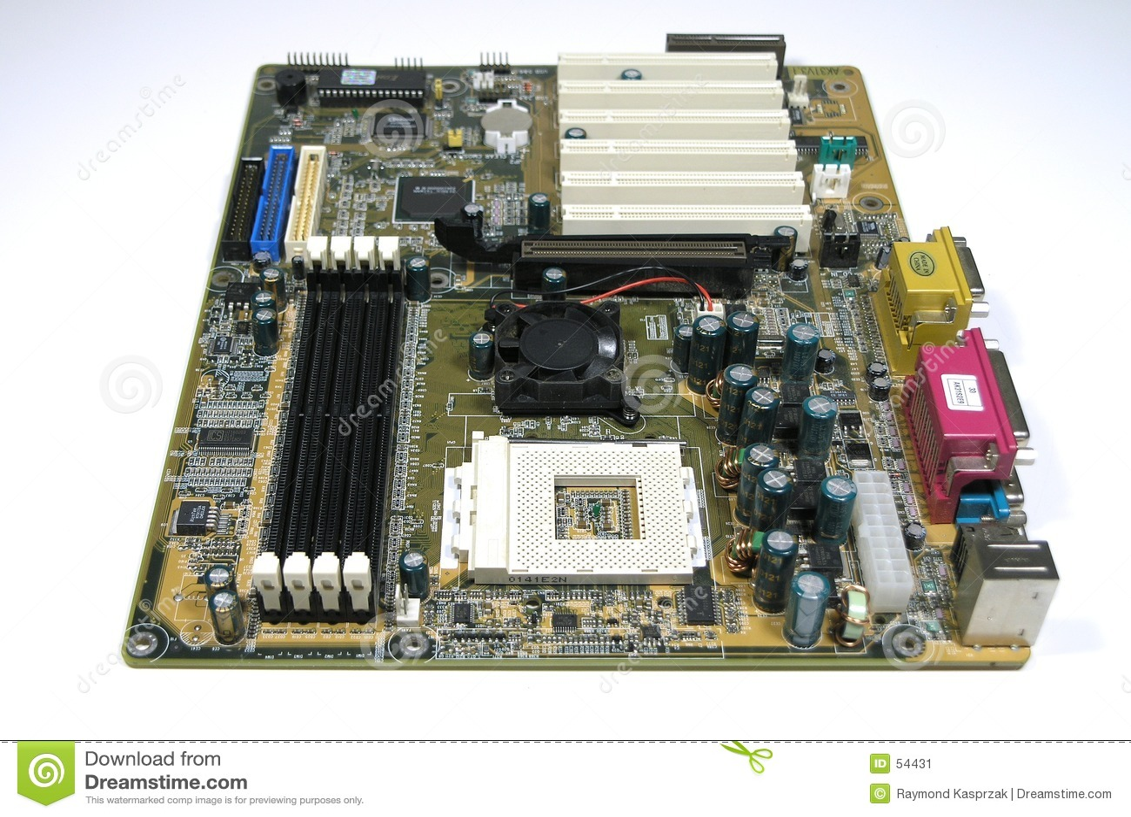 Prato principal do computador