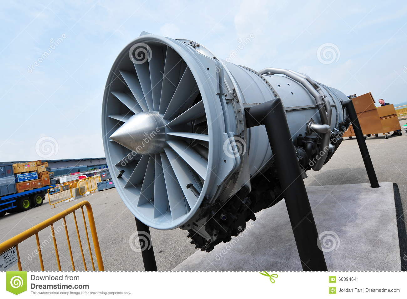 Pratt & Whitney F135 Jet Engine Of Lockheed Martin F-35
