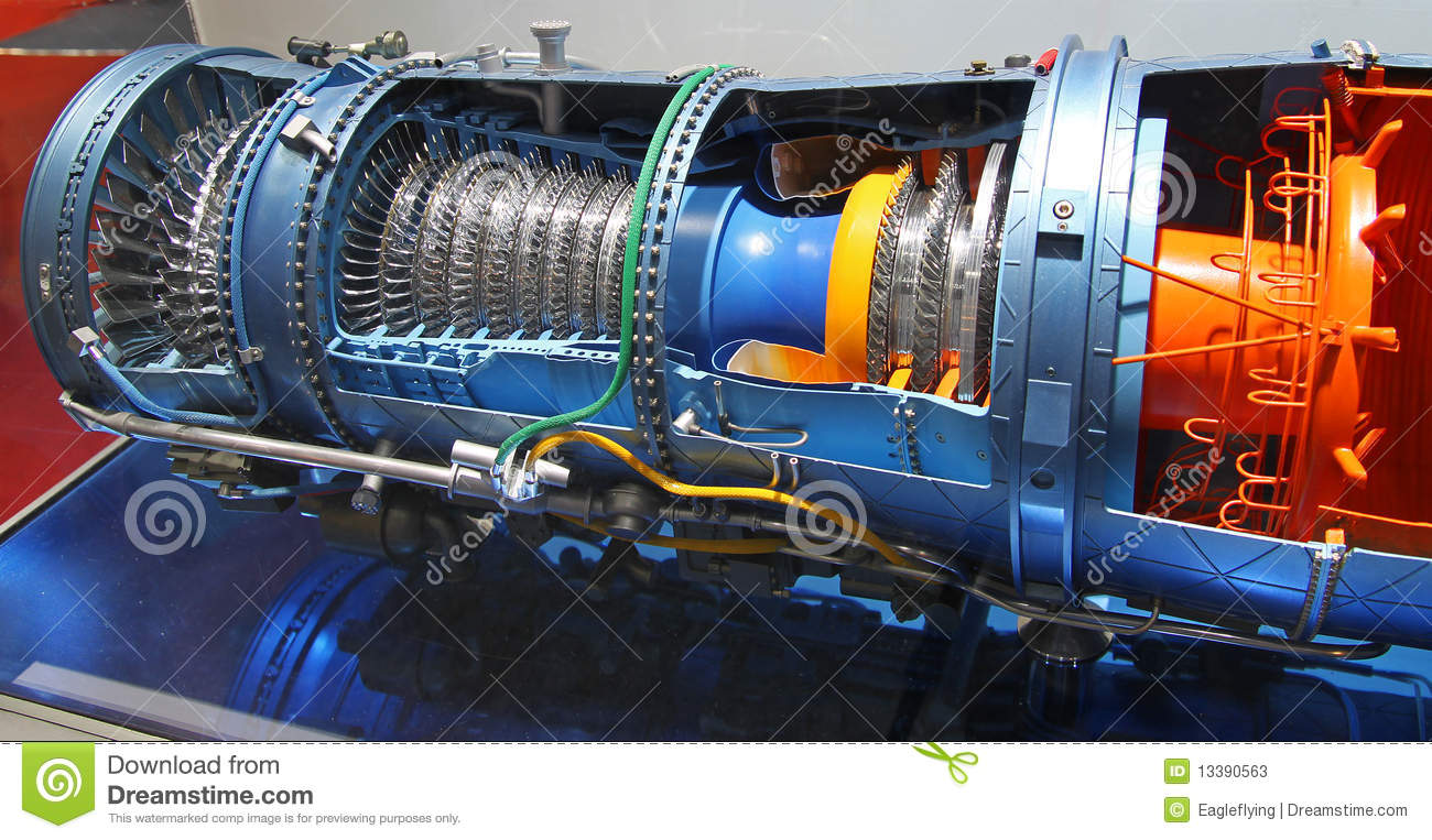 pratt f100 stw 229 engine editorial stock photo image 13390563