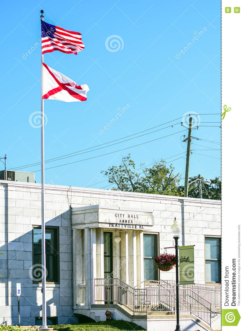Prattville City Hall Annex editorial photography  Image of