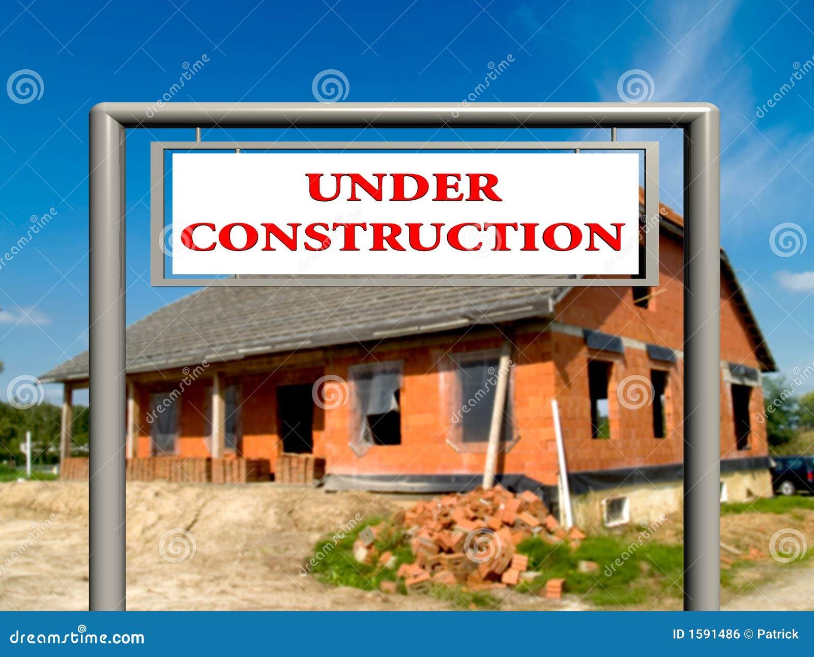 Prawdziwy znak budowy nieruchomości