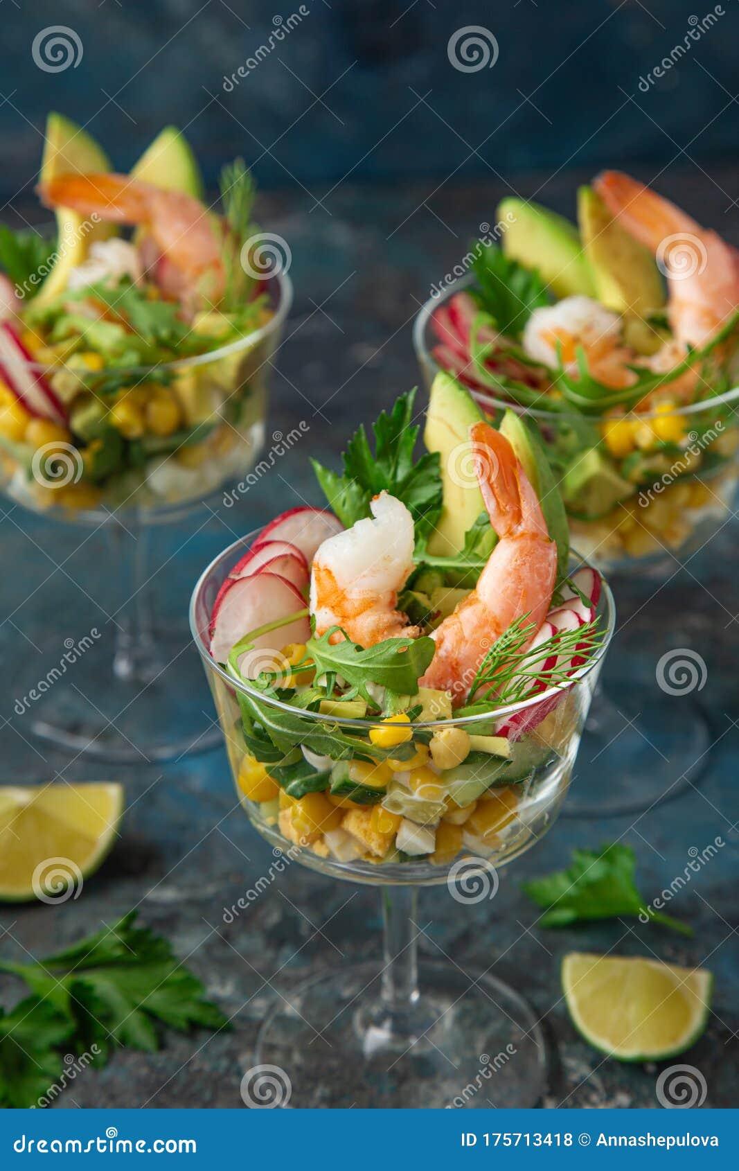 Salad Avocado Cocktail Recipe