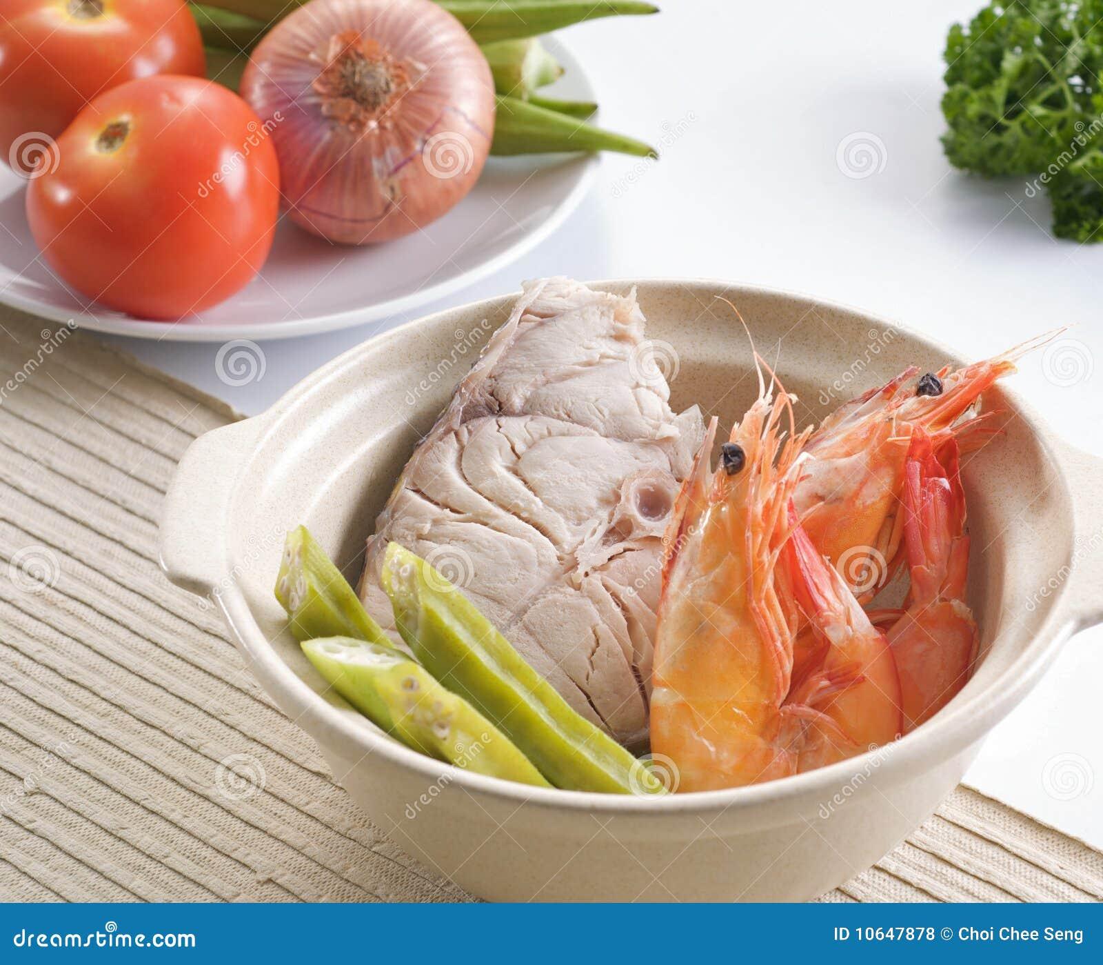 Prawn And Fish Royalty Free Stock Photos Image 10647878