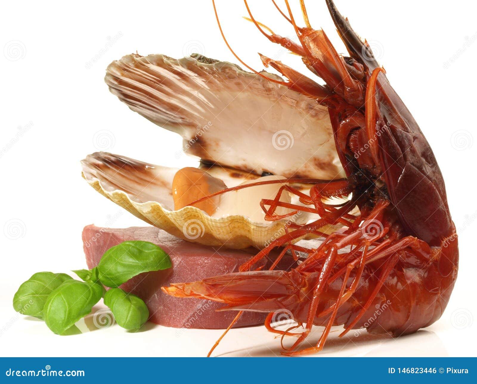 Seafood with Prawn - Shrimp Carabinero