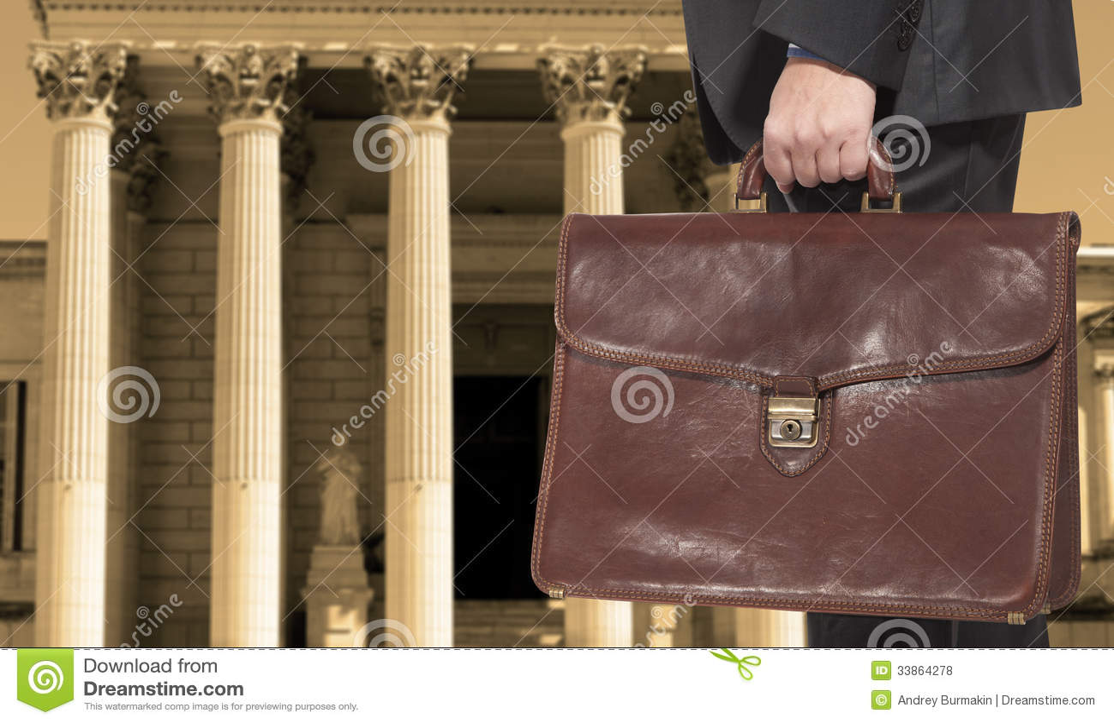 Prawnik z teczką