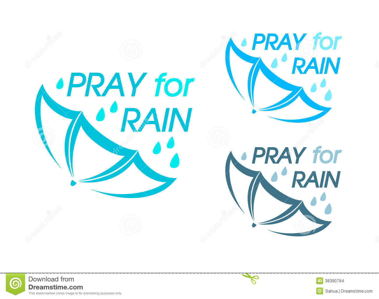 Pray For Rain Stock Images Image 38390794