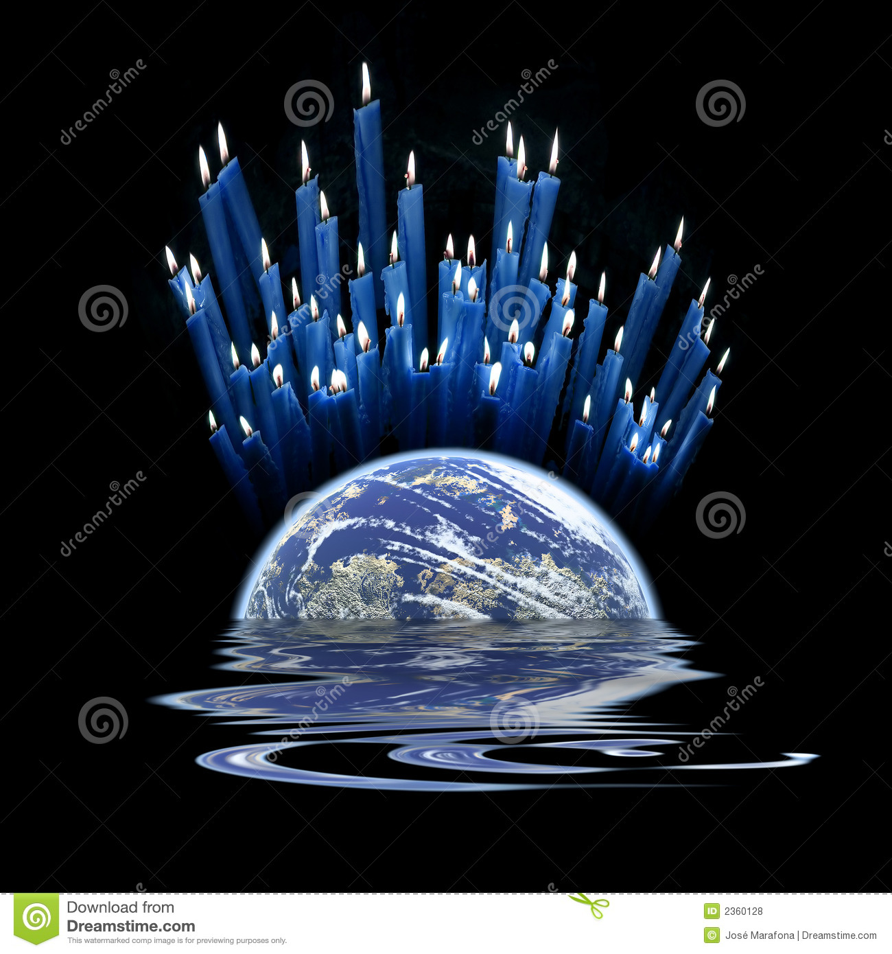 Berühmt A Pray For The World. Royalty Free Stock Photos - Image: 2360128 DI42