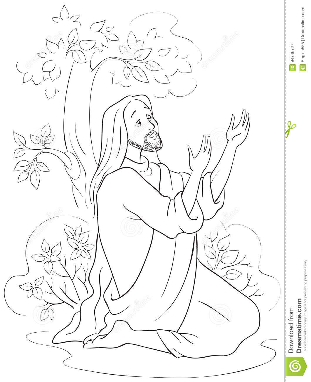 Free Jesus On Cross Coloring Page, Download Free Clip Art, Free ... | 1300x1059