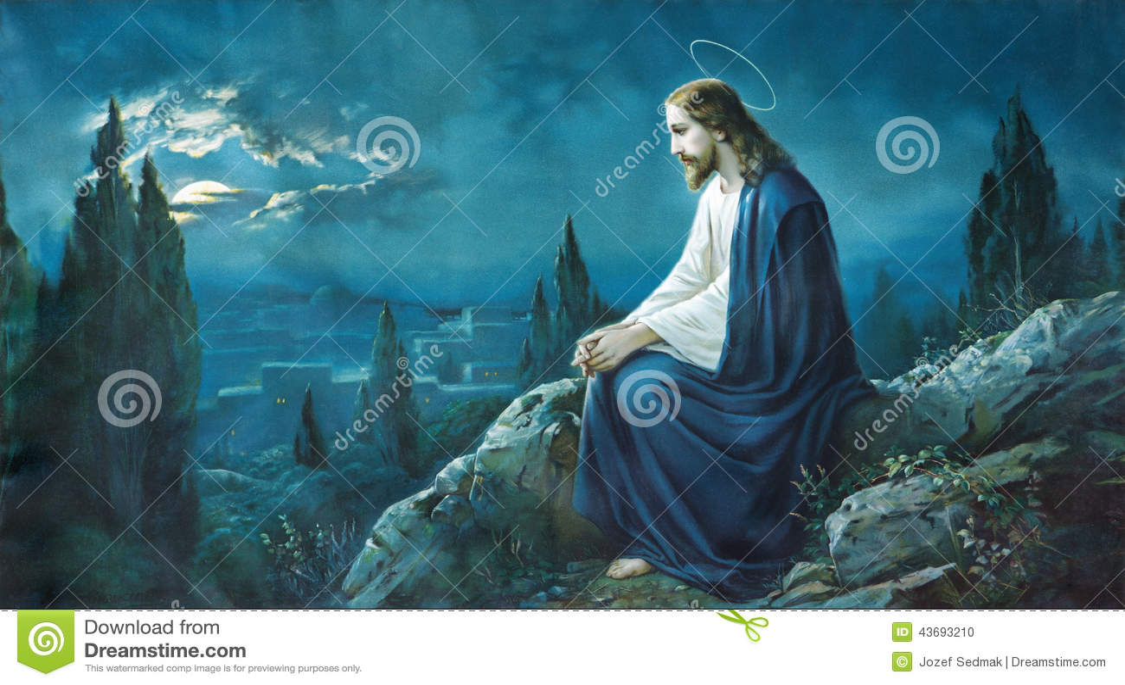 The prayer of jesus in the gethsemane garden typical - Jesus in the garden of gethsemane ...