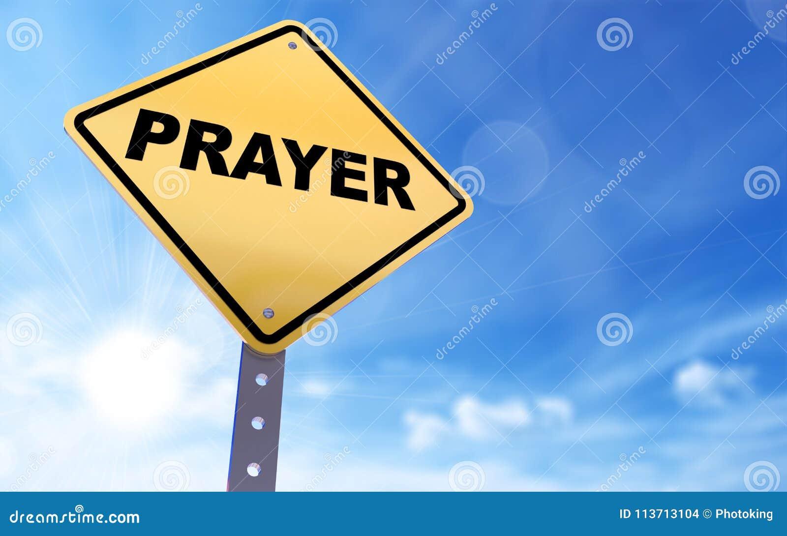 Prayer sign