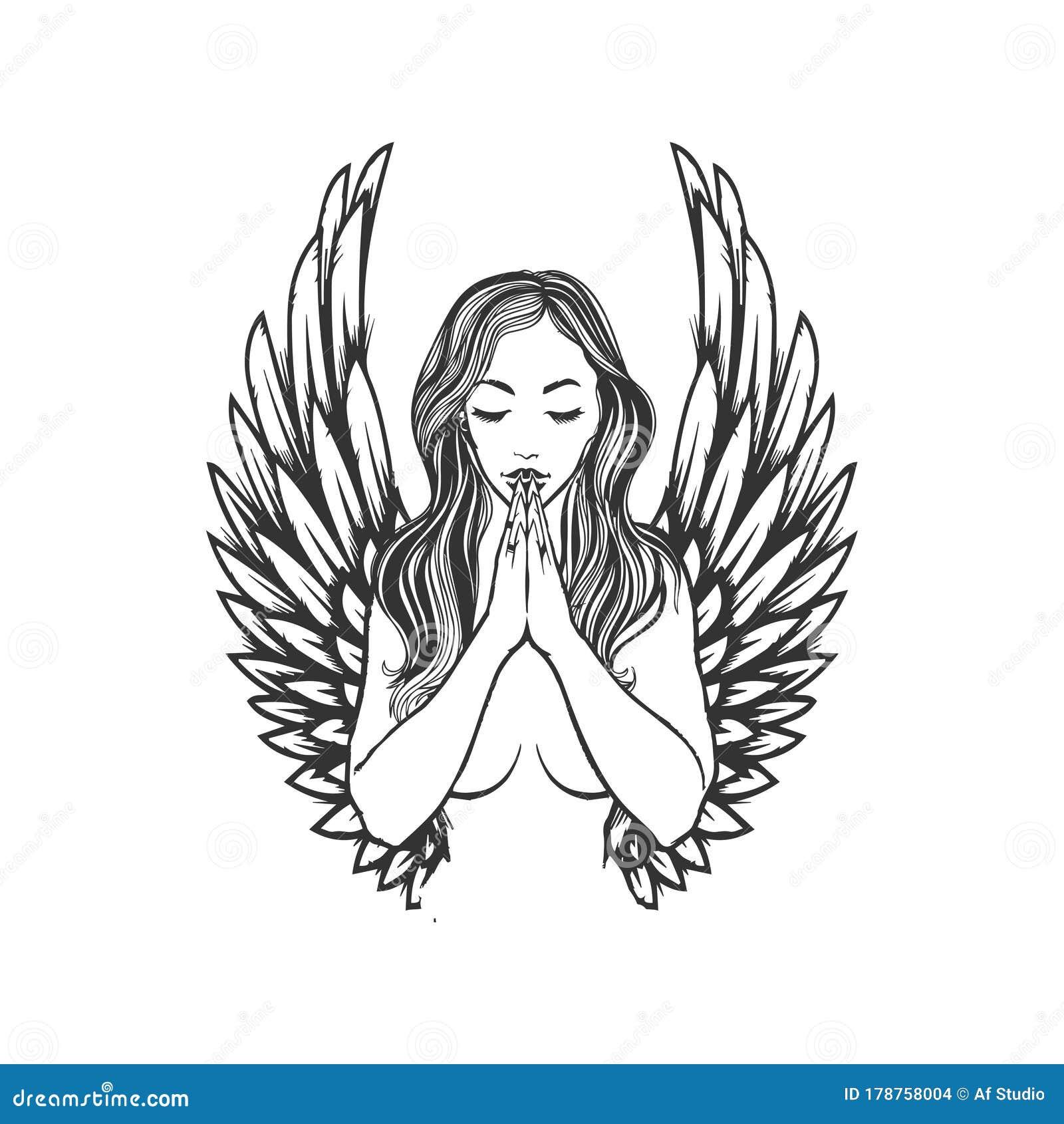 Angel Tattoo Pic