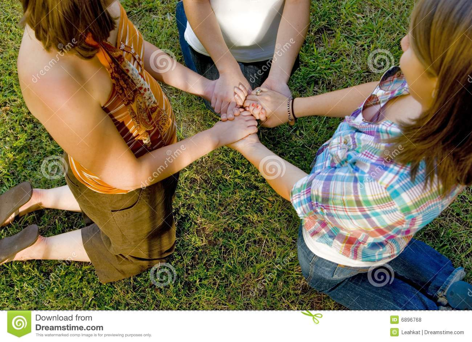 Praying Friends