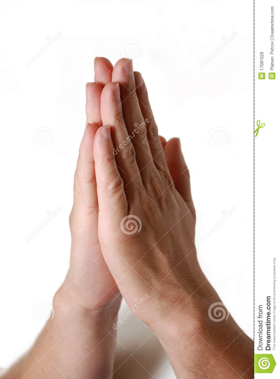 Praying Hands Royalty Free Stock Images - Image: 17081029