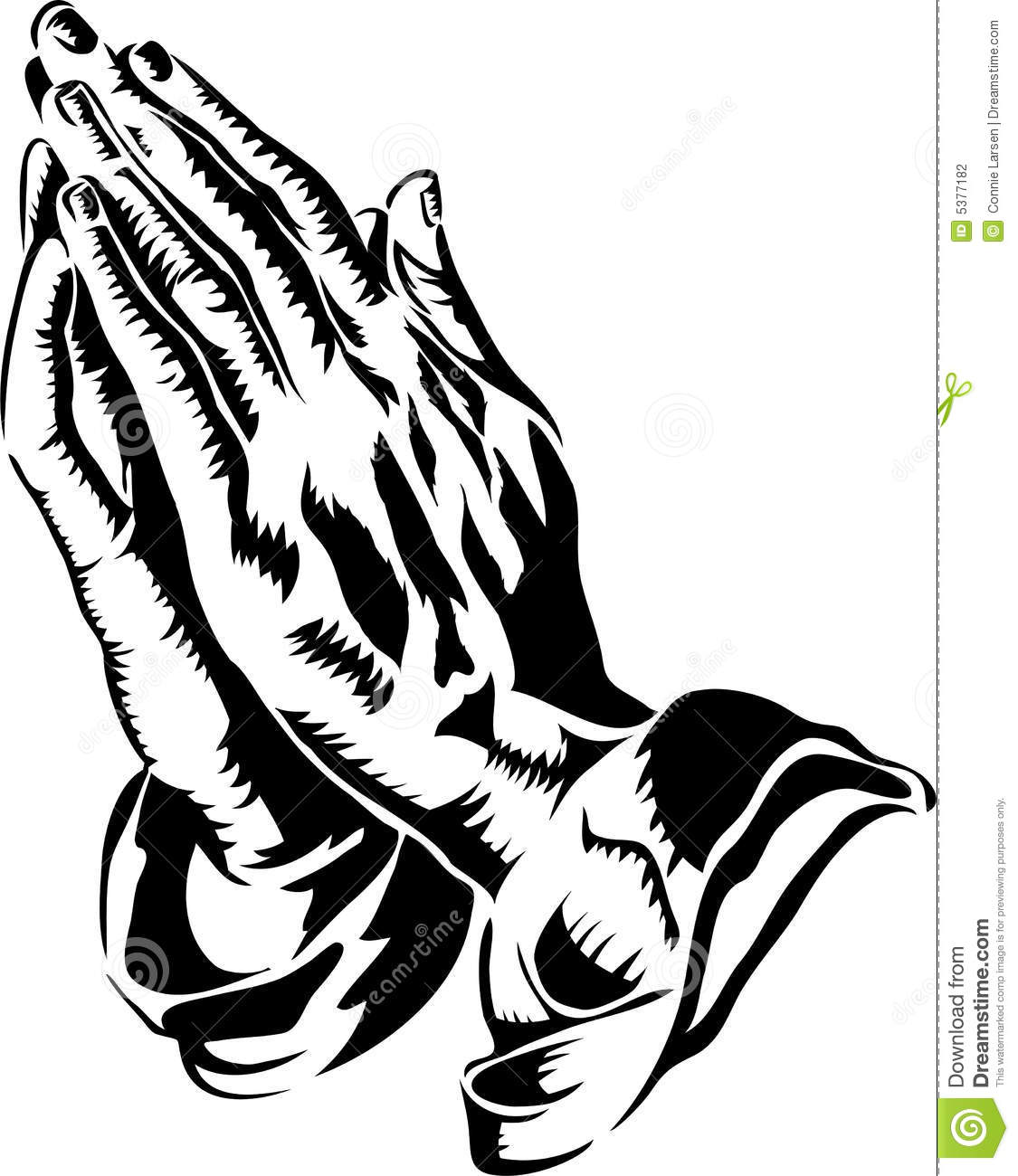 praying hands eps stock vector illustration of drawings 5377182