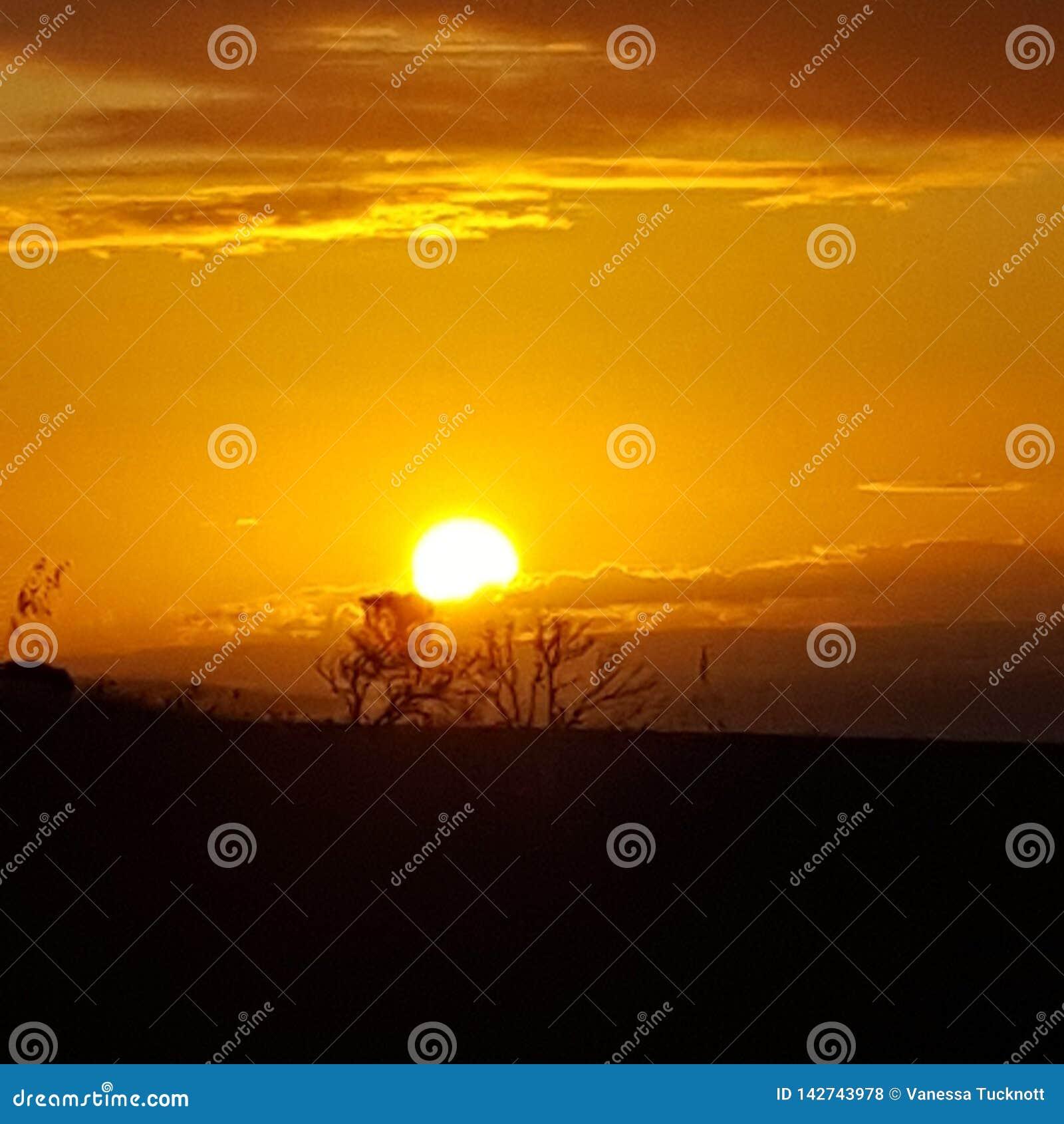 Prazer do por do sol