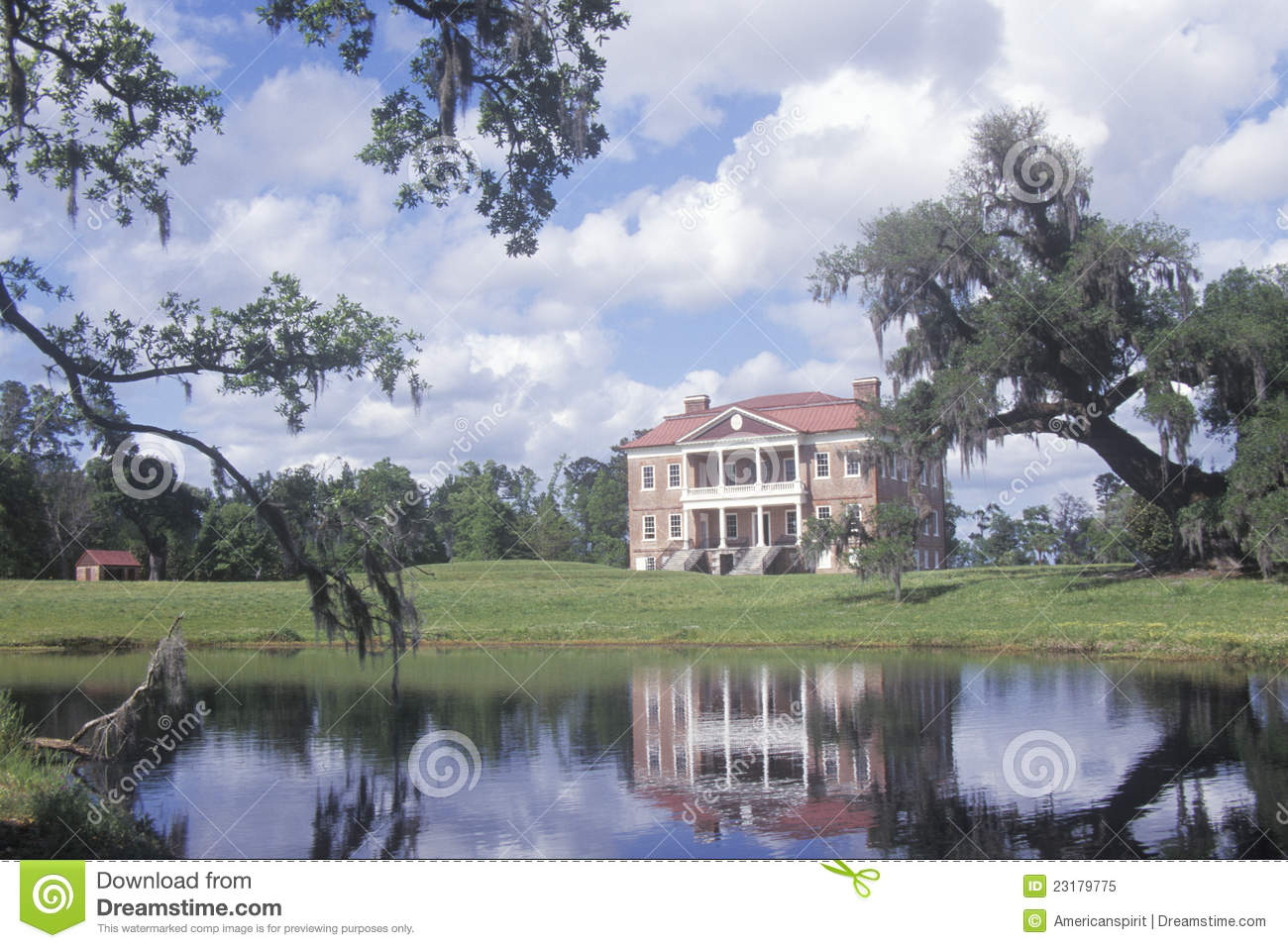 Pre Revolutionary War Plantation Editorial Image Image