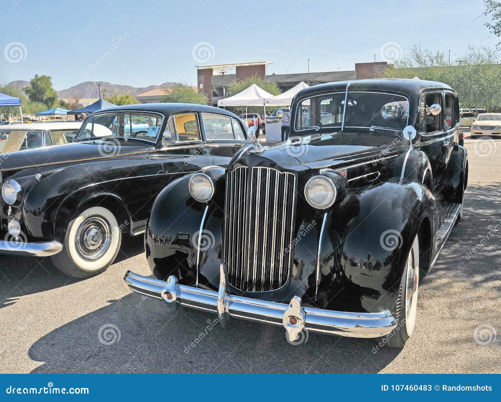 Pre-War Packard Sedan editorial stock photo  Image of travel - 107460483