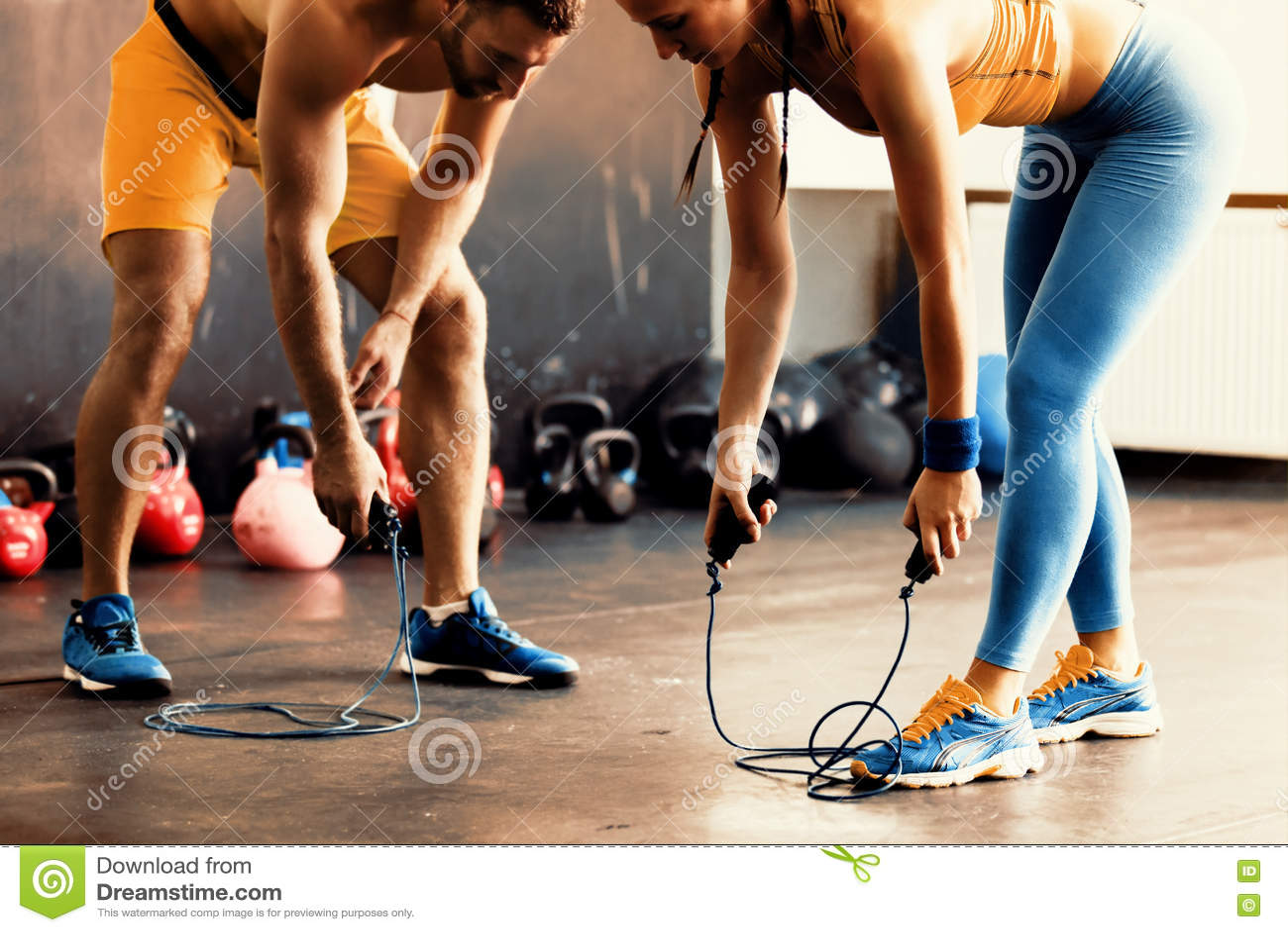 Preapring para treinar