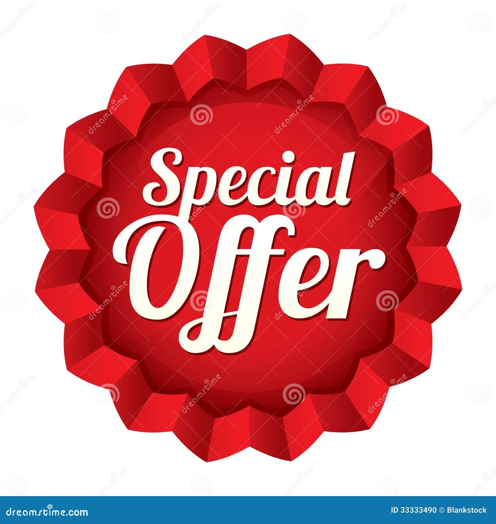 Precio de la oferta especial. Etiqueta engomada de la estrella del vector. 90b8516e72c