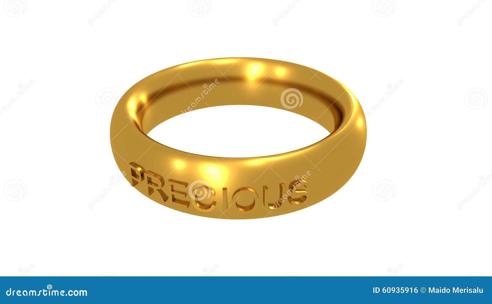 Precious pierścionek
