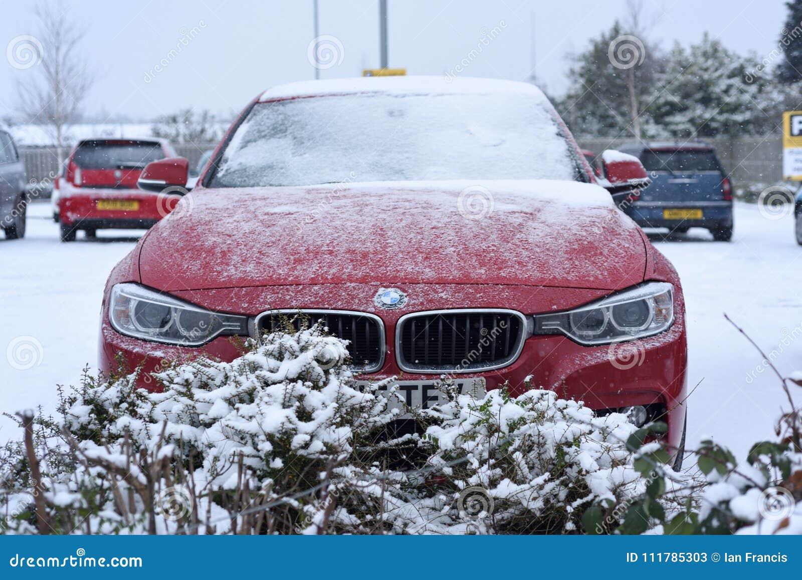 Precipitazioni nevose pesanti nel Regno Unito