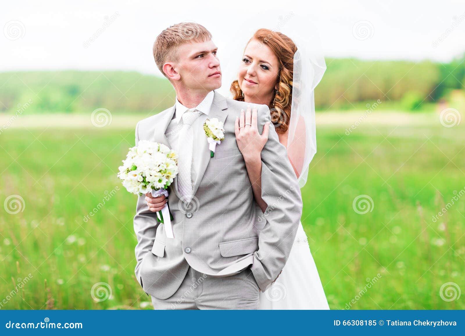 Tecknade Gift Par