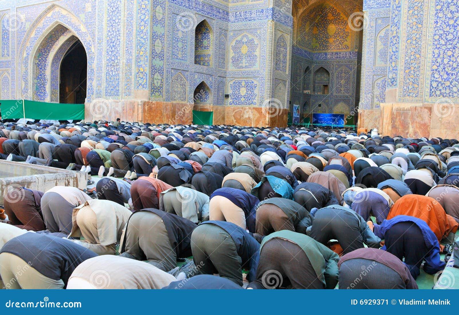 Preghiera totale musulmana di venerdì