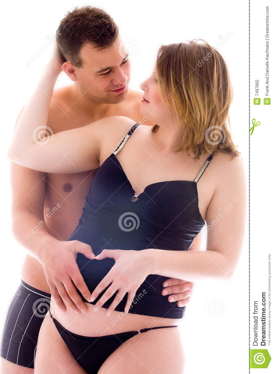 Pregnancy In Lingerie Stock Photography - Image: 7497862